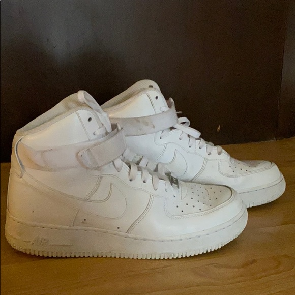 Men's Nike Air Force One high tops